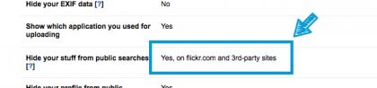 flickrの設定8