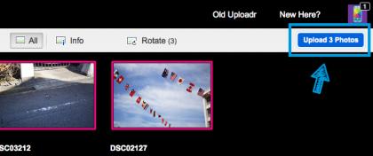 flickrのアップロード3