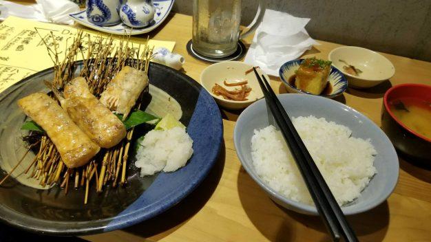 ホーチミン日本料理店の魚料理