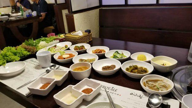 ホーチミンの韓国料理店