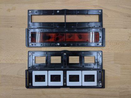 ケンコーKFS-1490ホルダーにフィルムをセット